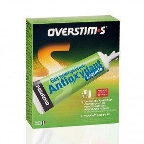 Gel antioxydant liquide Pêche-Abricot overtism's - Gels énergétiques